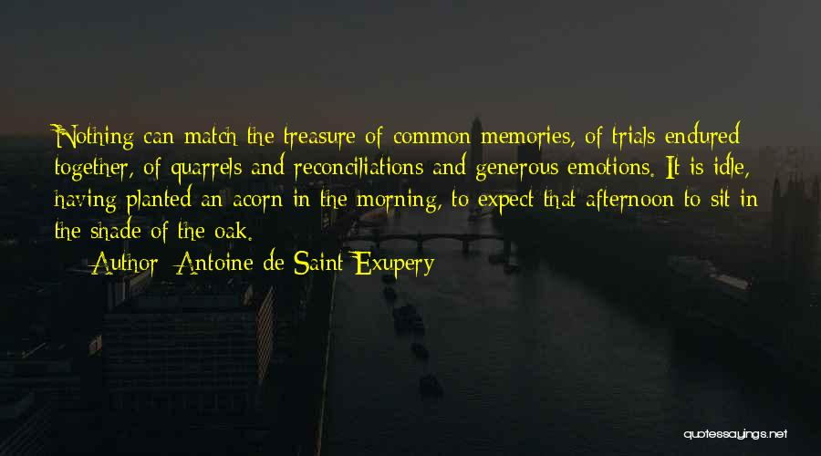 Emotions And Memories Quotes By Antoine De Saint-Exupery