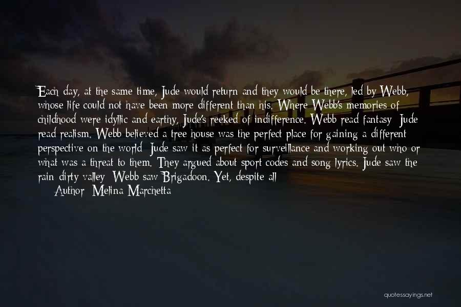 Emotions And Memories Quotes By Melina Marchetta