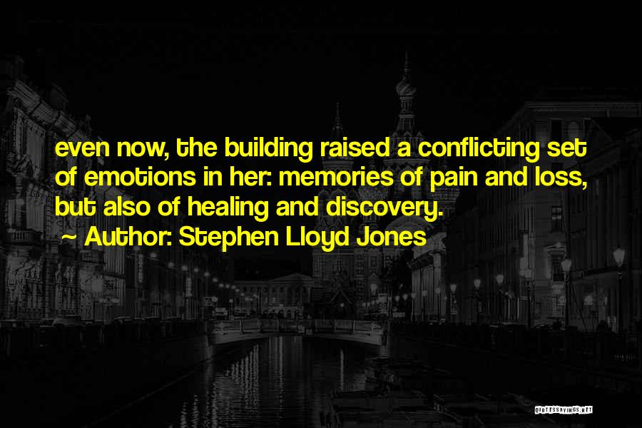 Emotions And Memories Quotes By Stephen Lloyd Jones