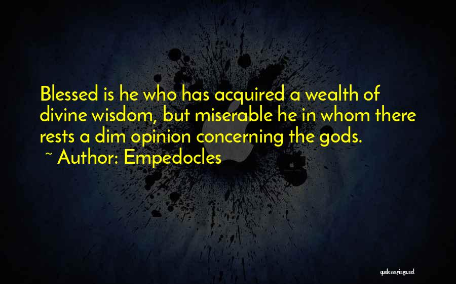 Empedocles Quotes 1392876