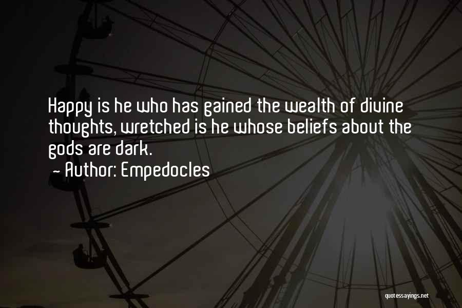 Empedocles Quotes 1426009