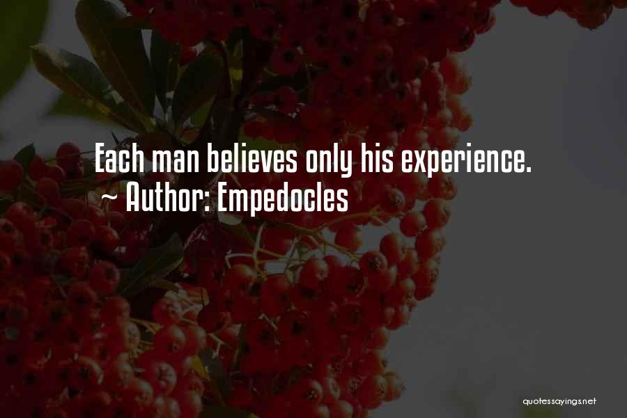 Empedocles Quotes 1834515