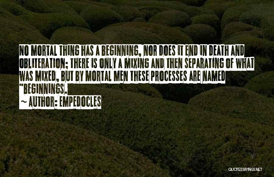 Empedocles Quotes 1962133