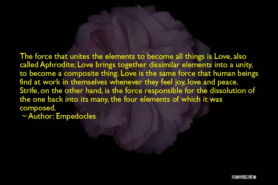 Empedocles Quotes 208622