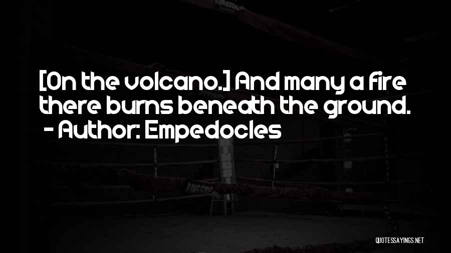 Empedocles Quotes 281539