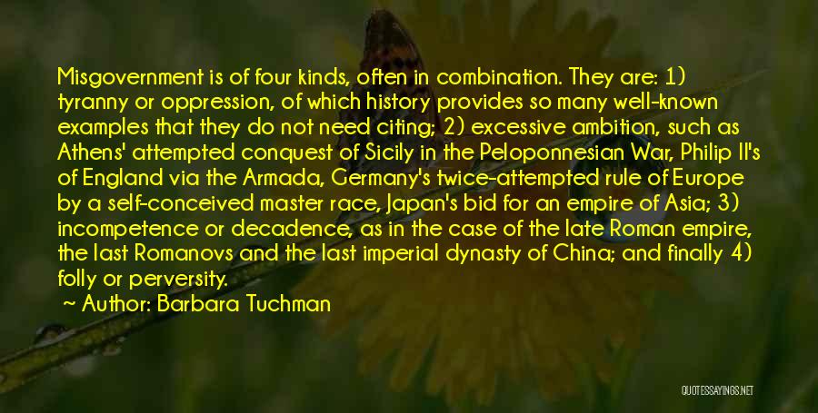 Empire At War Quotes By Barbara Tuchman
