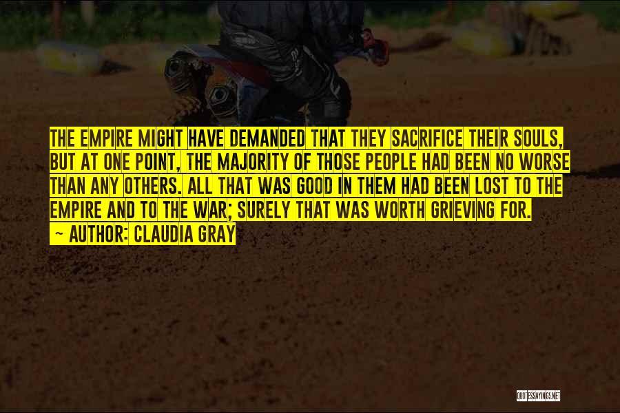 Empire At War Quotes By Claudia Gray