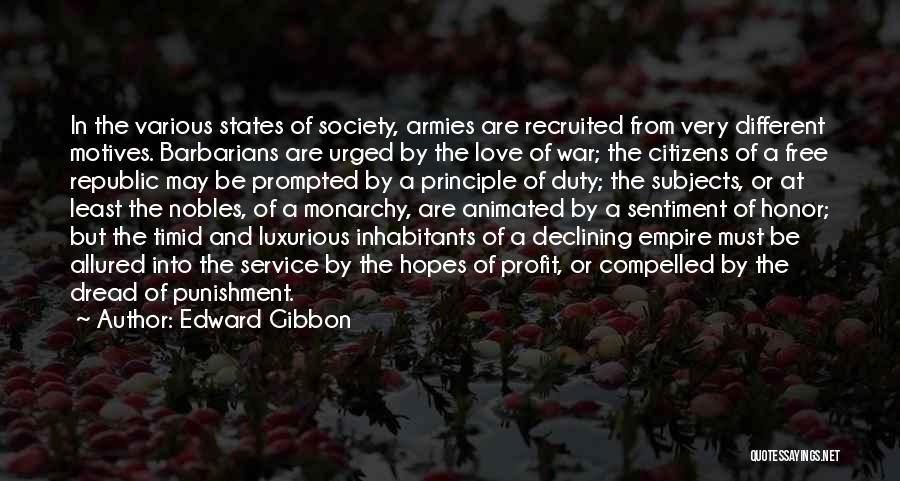 Empire At War Quotes By Edward Gibbon