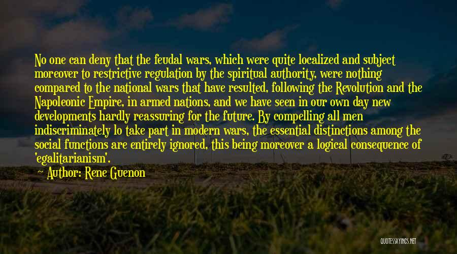 Empire At War Quotes By Rene Guenon