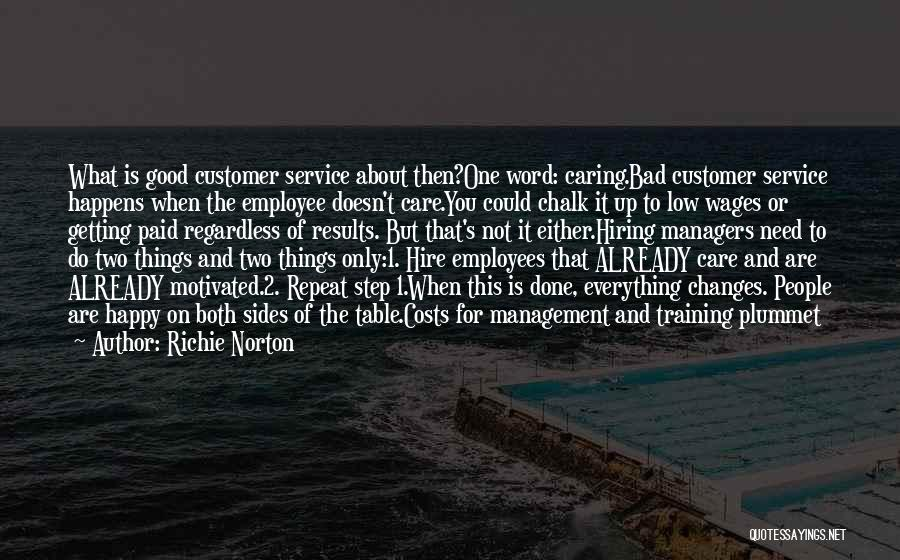 Employees Training Quotes By Richie Norton
