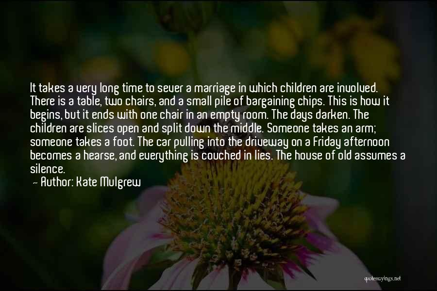 Empty Chair Quotes By Kate Mulgrew
