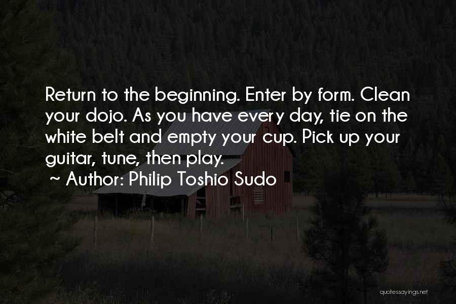Empty Cup Quotes By Philip Toshio Sudo