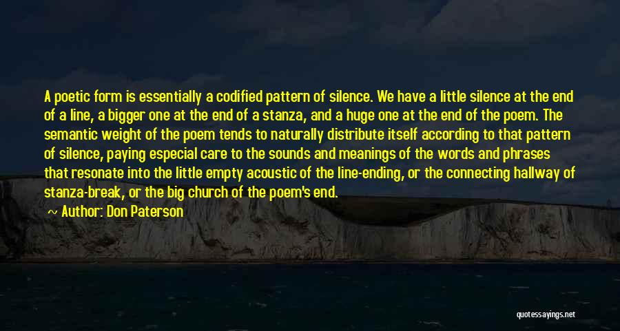 Empty Words Quotes By Don Paterson