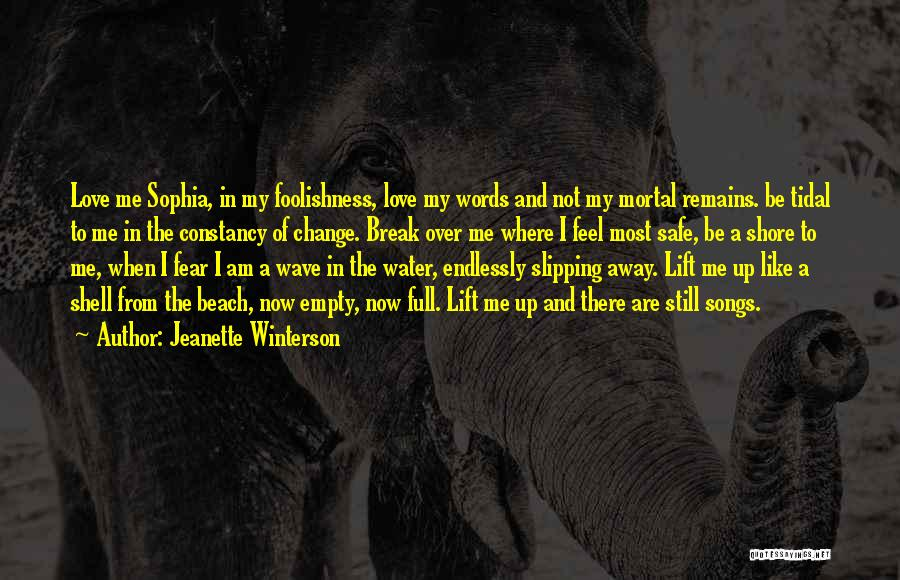 Empty Words Quotes By Jeanette Winterson