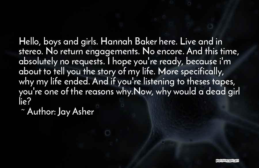 Encore Quotes By Jay Asher