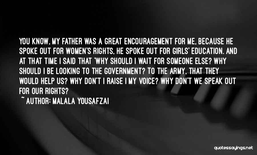 Encouragement And Leadership Quotes By Malala Yousafzai