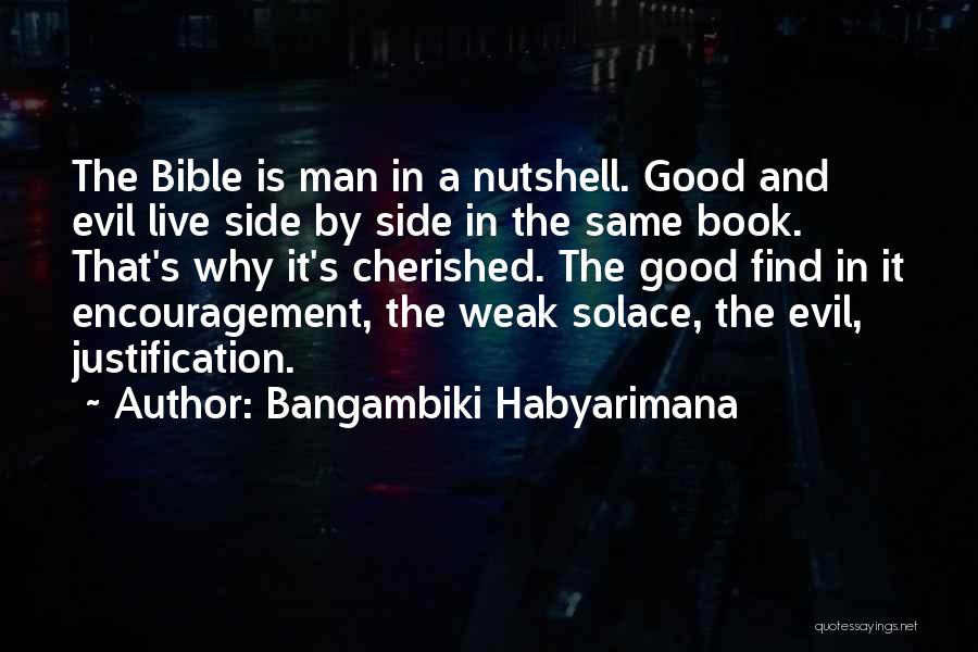 Encouragement From The Bible Quotes By Bangambiki Habyarimana