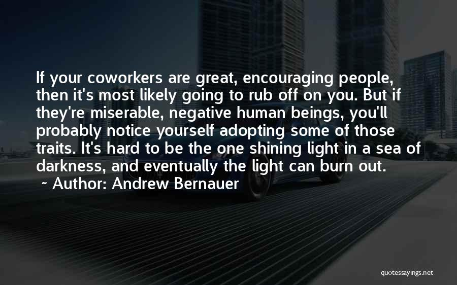 Encouraging Quotes By Andrew Bernauer