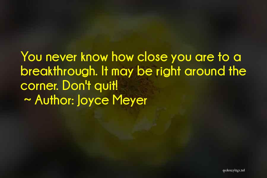 Encouraging Quotes By Joyce Meyer