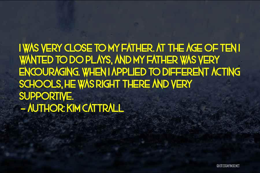 Encouraging Quotes By Kim Cattrall