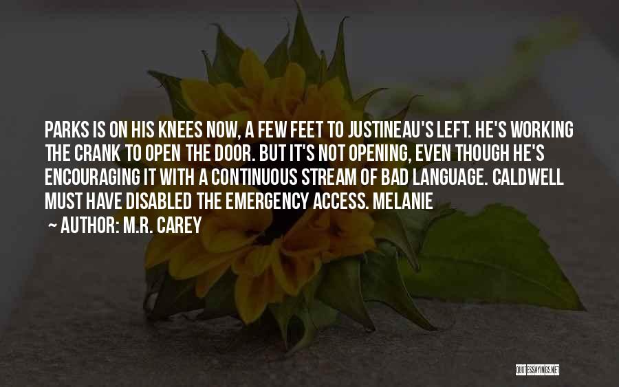 Encouraging Quotes By M.R. Carey