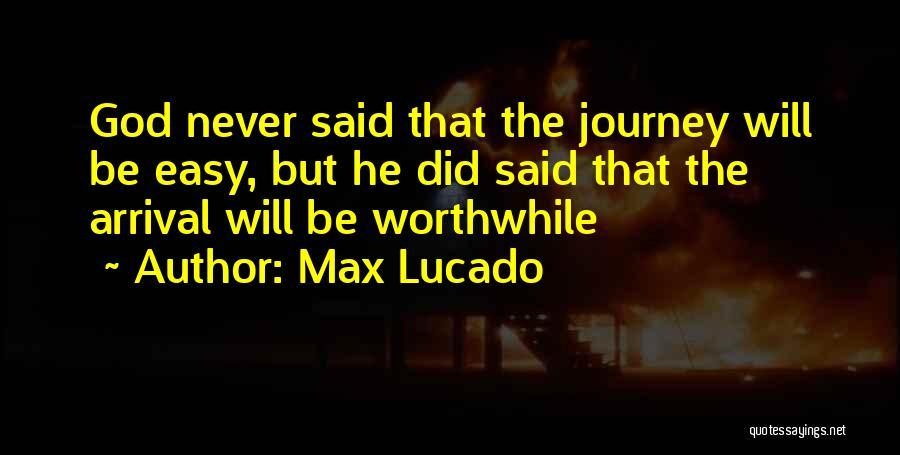 Encouraging Quotes By Max Lucado