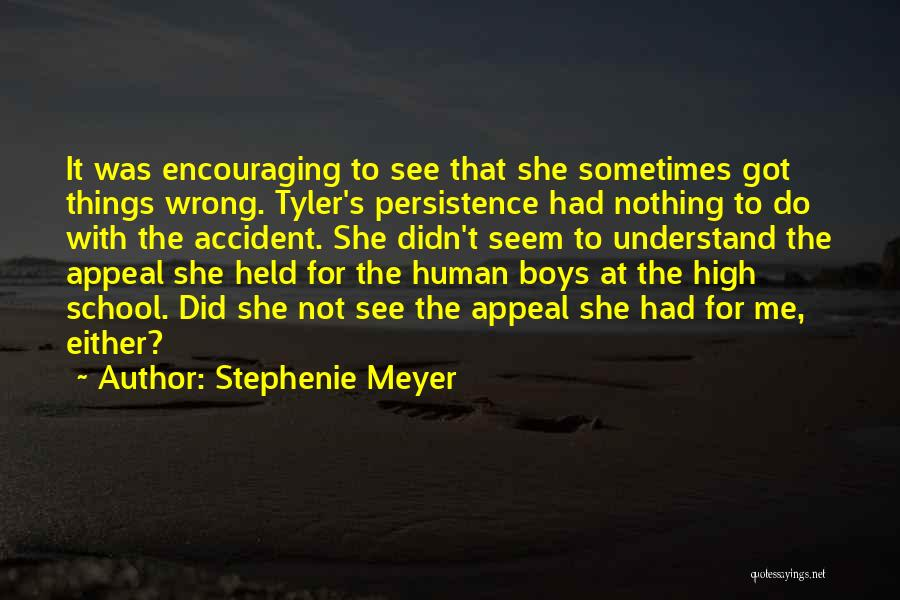 Encouraging Quotes By Stephenie Meyer