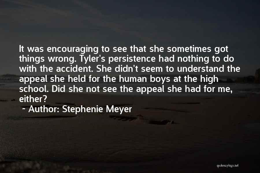 Encouraging Yourself Quotes By Stephenie Meyer