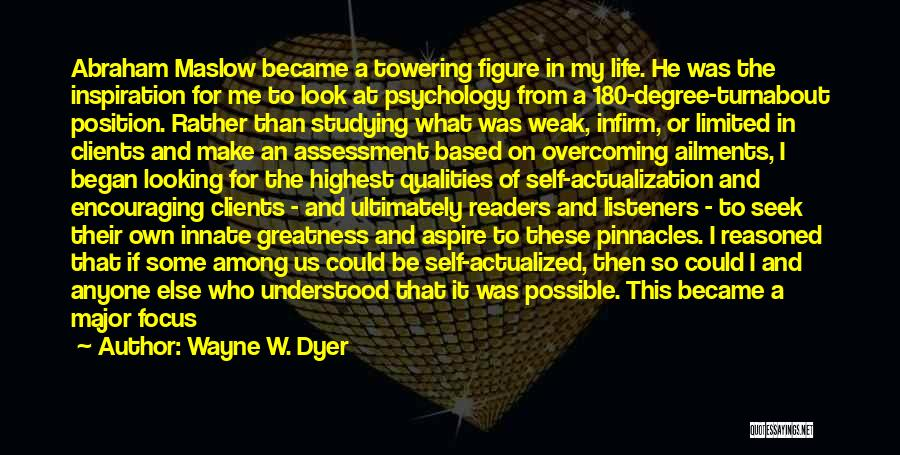 Encouraging Yourself Quotes By Wayne W. Dyer
