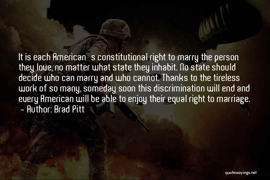 End Of Marriage Quotes By Brad Pitt