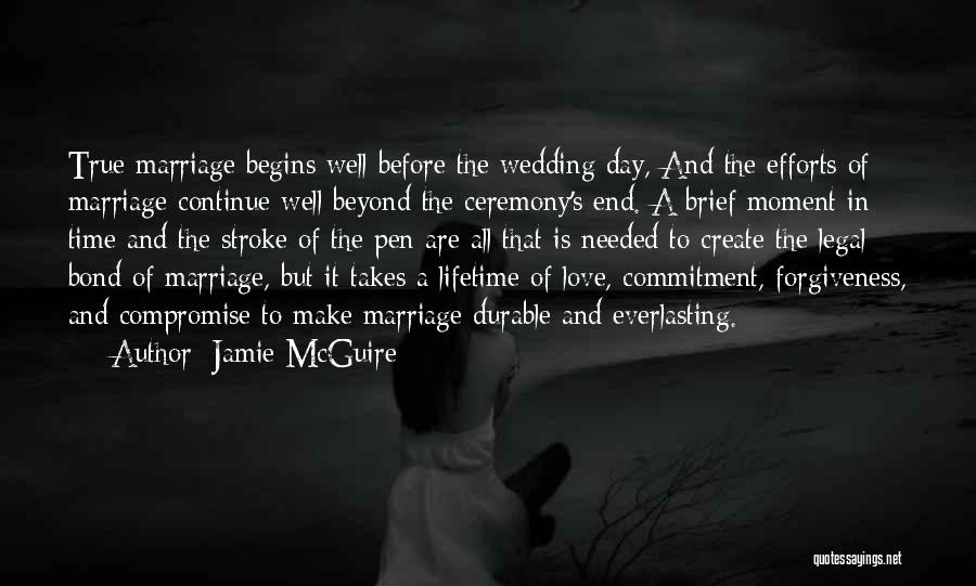 End Of Marriage Quotes By Jamie McGuire