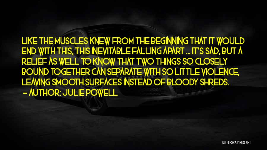 End Of Marriage Quotes By Julie Powell