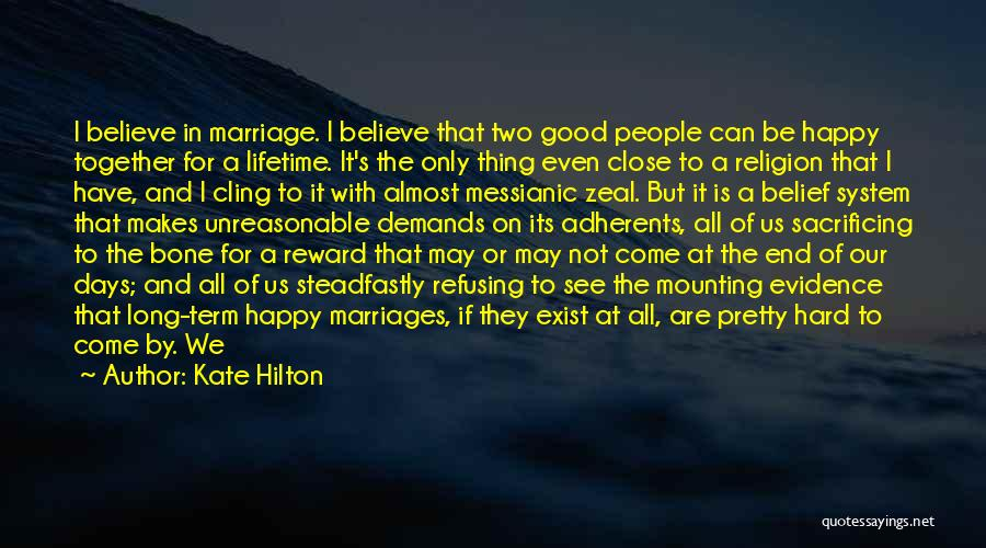 End Of Marriage Quotes By Kate Hilton