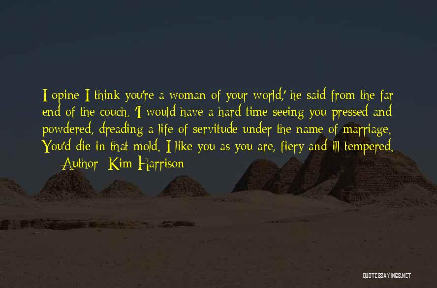 End Of Marriage Quotes By Kim Harrison