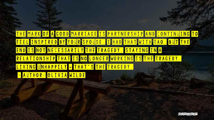 End Of Marriage Quotes By Olivia Wilde