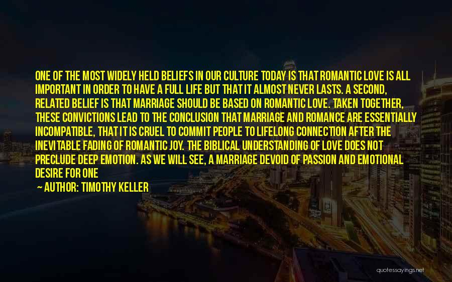 End Of Marriage Quotes By Timothy Keller