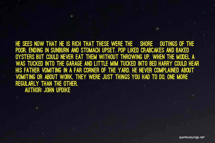 Ending Things Quotes By John Updike