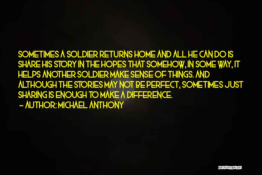 Ending Things Quotes By Michael Anthony