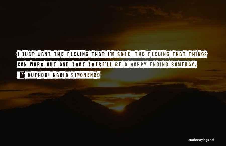 Ending Things Quotes By Nadia Simonenko