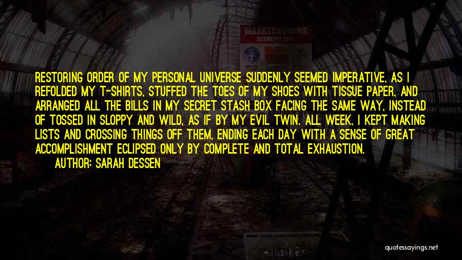 Ending Things Quotes By Sarah Dessen