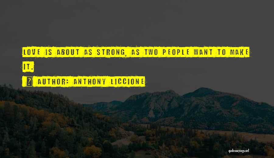 Endurance In Relationships Quotes By Anthony Liccione