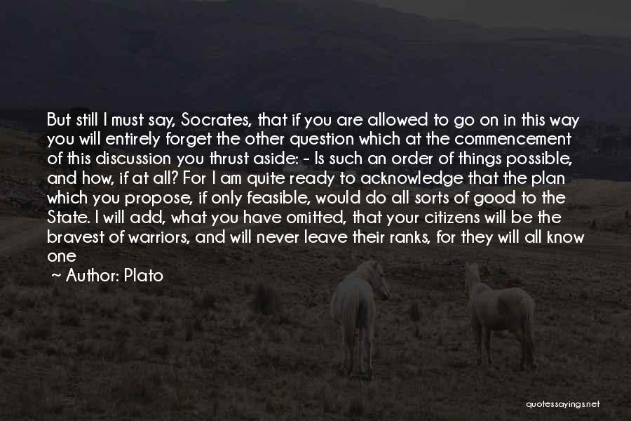 Enemy Brother Quotes By Plato