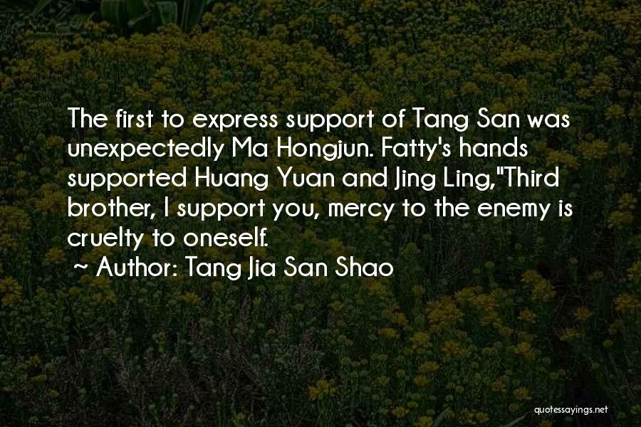 Enemy Brother Quotes By Tang Jia San Shao