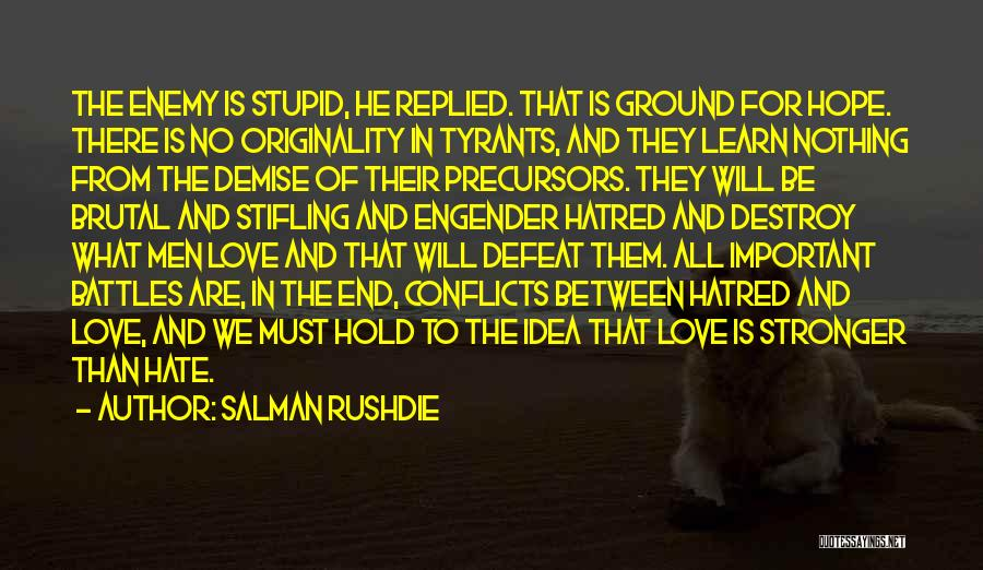 Engender Quotes By Salman Rushdie