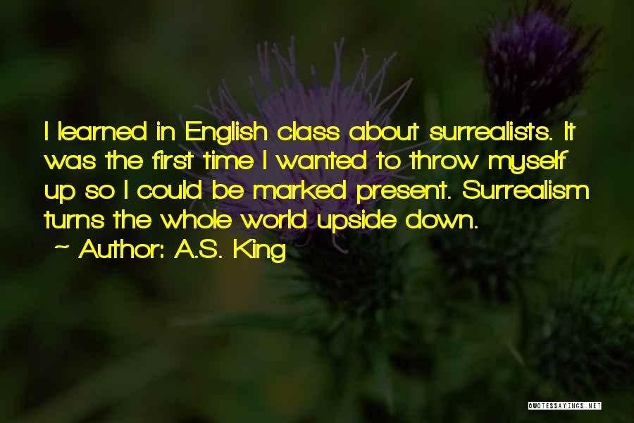 English Class Quotes By A.S. King