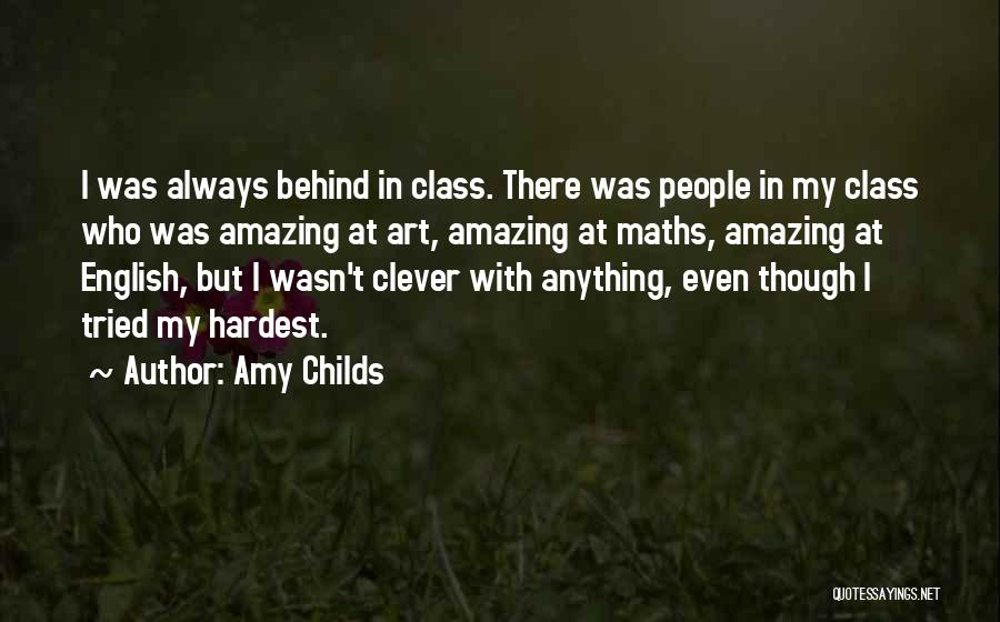 English Class Quotes By Amy Childs