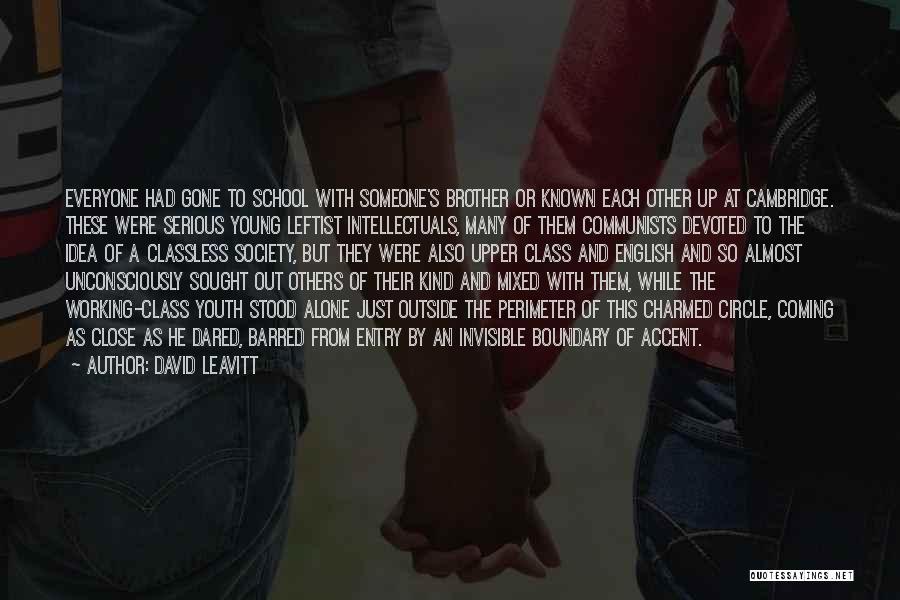 English Class Quotes By David Leavitt