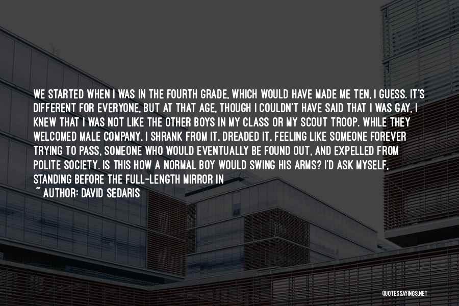 English Class Quotes By David Sedaris