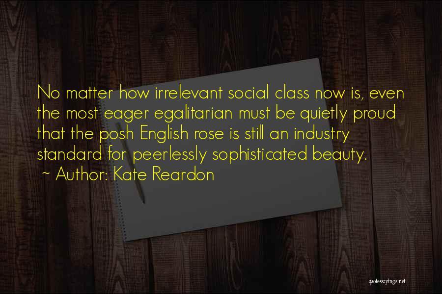 English Class Quotes By Kate Reardon