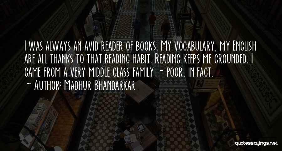 English Class Quotes By Madhur Bhandarkar
